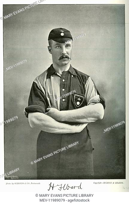 H F Ward, footballer, cricketer and athlete