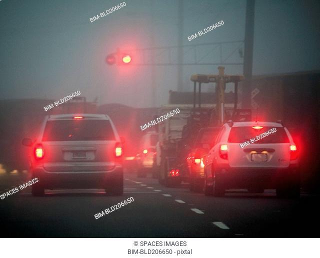 Train Stopping Traffic