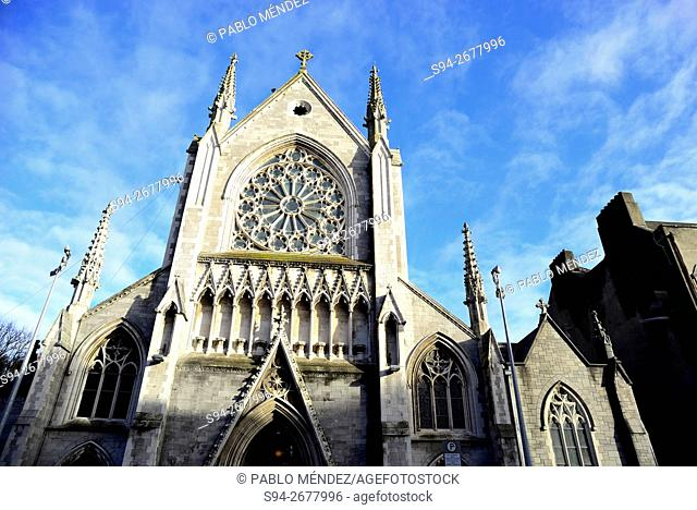 Church of Saint Saviours in Dominic street of Dublin, Ireland