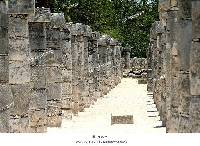 Peristyle, Mexico