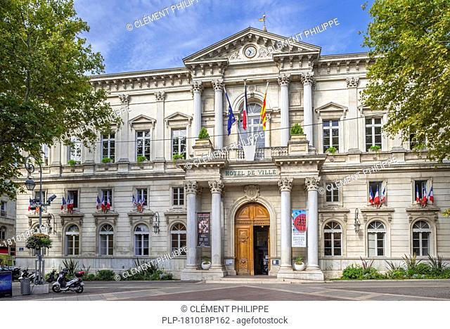 Hôtel de Ville / city hall in Avignon, Vaucluse, Provence-Alpes-Côte d'Azur, France