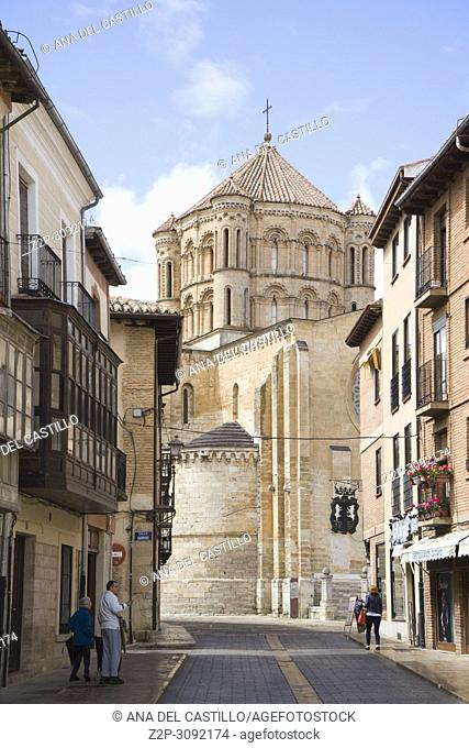 Saint Mary collegiate church at Toro city in Zamora province Castile Leon Spain