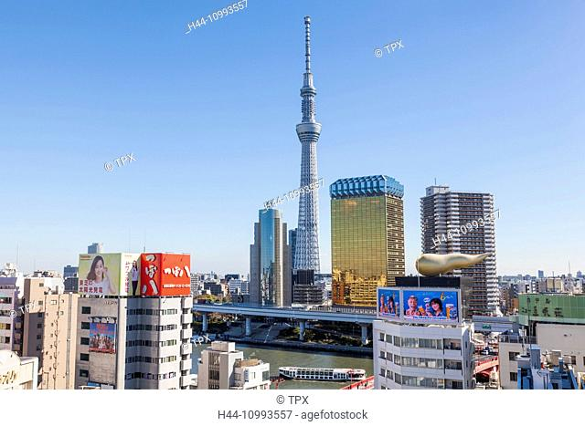 Japan, Honshu, Tokyo, Asakusa, Sky Tree