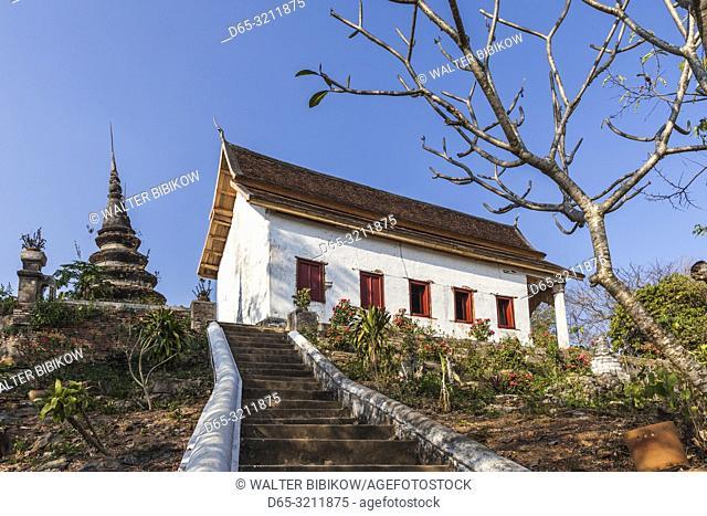 Laos, Luang Prabang, Wat Chomphet