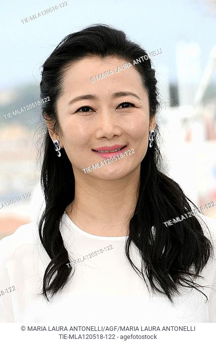 Zhao Tao during the photocall of the film Ash is Purest White. 71st Cannes Film Festival. Cannes. France 12-05-2018