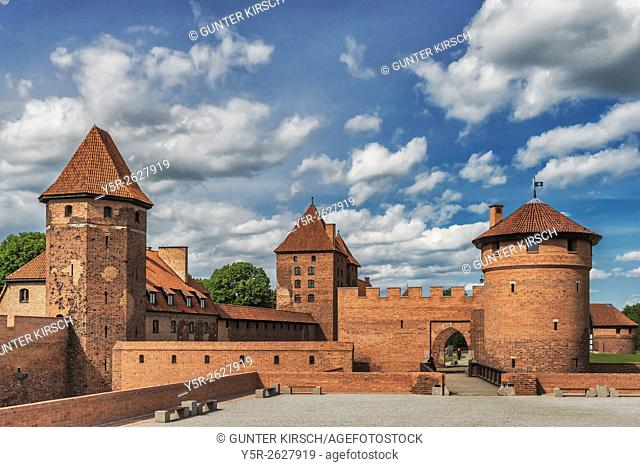 The Castle of the Teutonic Order in Malbork (Zamek w Malborku), is a castle on the river Nogat. From 1309 to 1454, the castle was seat of the Grand Master of...