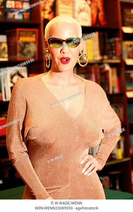 Amber Rose at her book signing for 'How To Be A Bad Bitch' at Barnes and Noble in Philadelphia Featuring: Amber Rose Where: Valley Forge, Pennsylvania