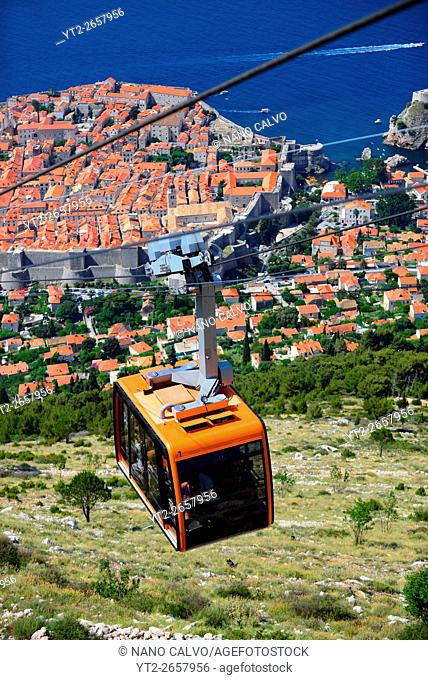 Dubrovnik Cable Car, a 4-minute ride transports visitors 778 meters to a plateau offering Old City views & a restaurant
