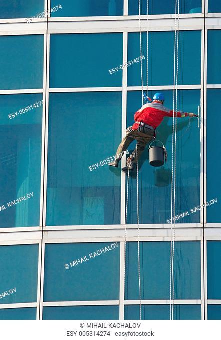 Climber - window cleaner