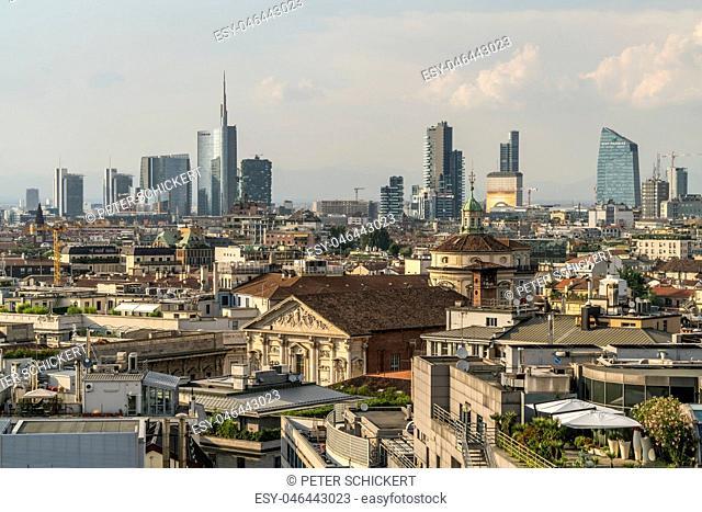 Italy, Milan, cityscape