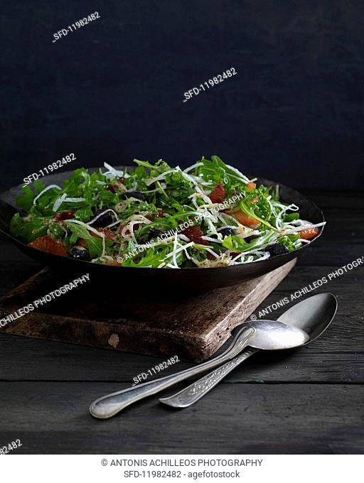 Jicama & blood orange salad