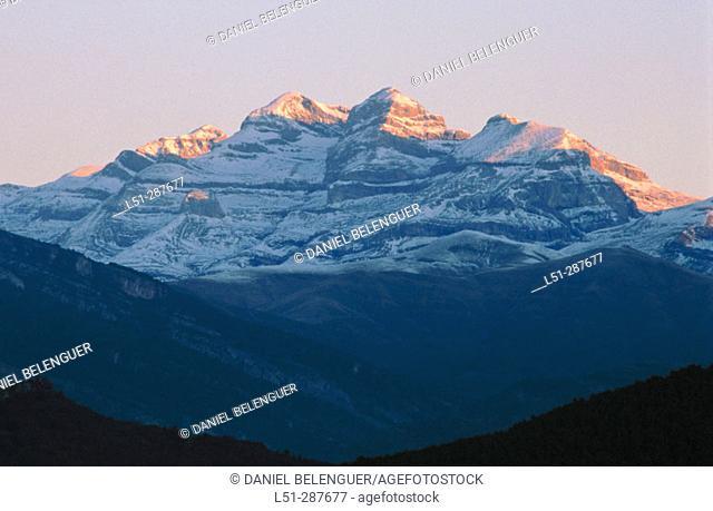 Monte Perdido, Pyrenees Mountains. Huesca province, Spain