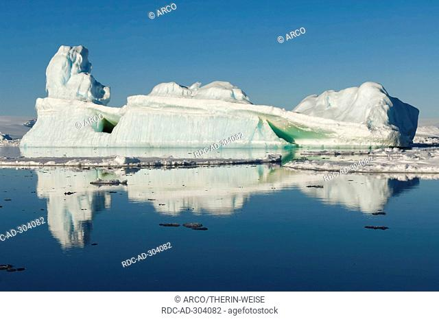 Icefloe and iceberg, Weddell Sea, Antarctica
