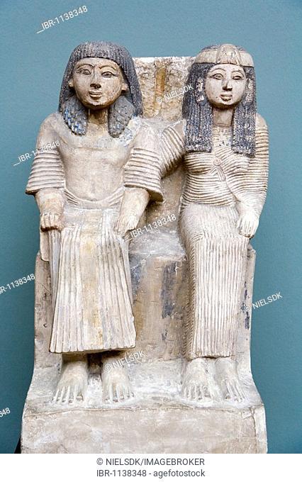 Ancient art sculpture at The Glyptotek in Copenhagen, Denmark