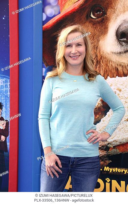 """Angela Kinsey 01/06/2018 The U.S. Premiere of """"""""Paddington 2"""""""" held at The Regency Village Theatre in Los Angeles, CA Photo by Izumi Hasegawa / HNW / PictureLux"""