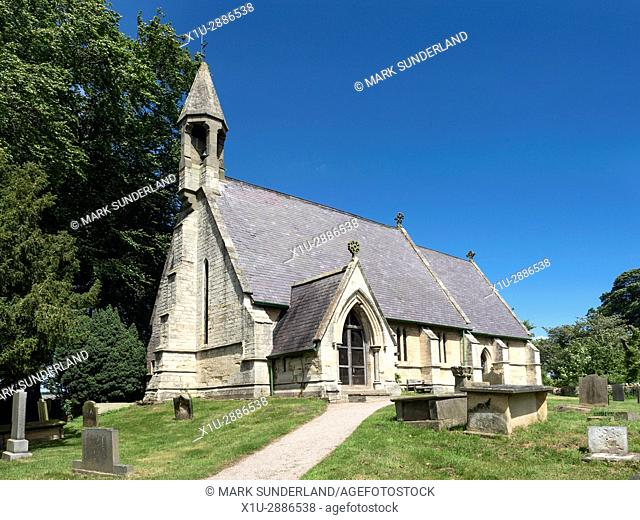 Parish Church of St Wilfrid at South Stainley near Ripon North Yorkshire England
