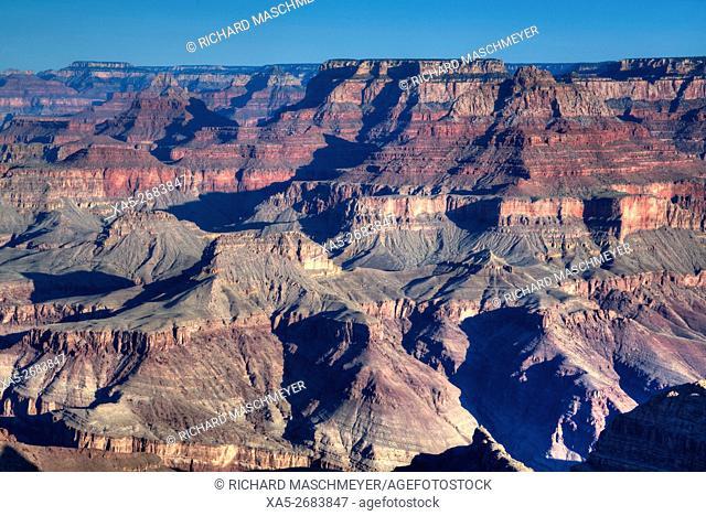 South Rim, Grand Canyon National Park, UNESCO World Heritage Site, Arizona, USA