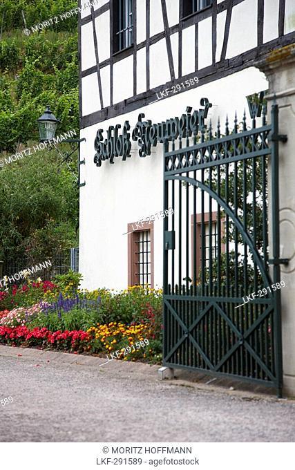 Neuweier castle, Neuweier, Baden-Baden, Black Forest, Baden-Wuerttemberg, Germany