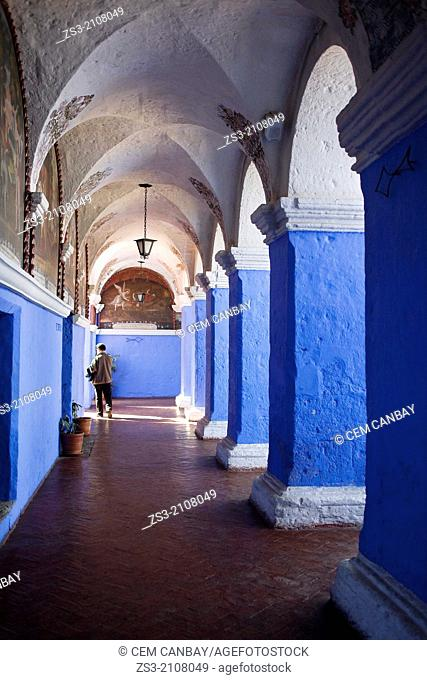 The Monastery of Saint Catherine, Santa Catalina Convent, Arequipa, Peru, South America