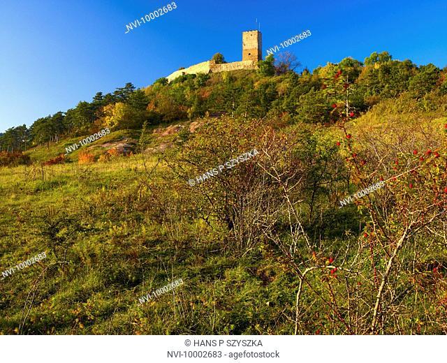 Gleichen Castle, Muehlberg, Drei Gleichen, Thuringia, Germany
