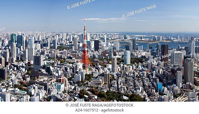 Japan-Tokyo City-Tokyo Panorama- Skyline