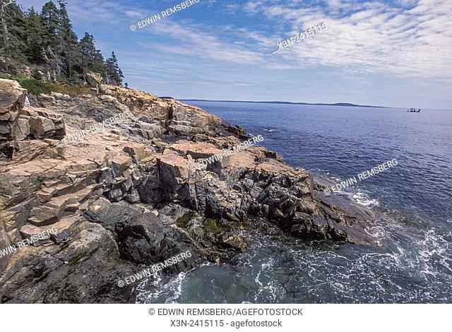 Acadia National Park, Maine USA - Maine coastline