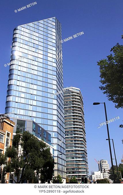 Lexicon apartment building Islington London