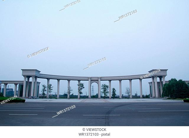 Government Plaza in Dongying, Shandong Province kenli