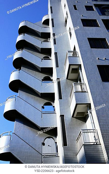 Architecture of Chuo, Chuo-ku, Central Ward, Chuo City, heart of Tokyo, Japan