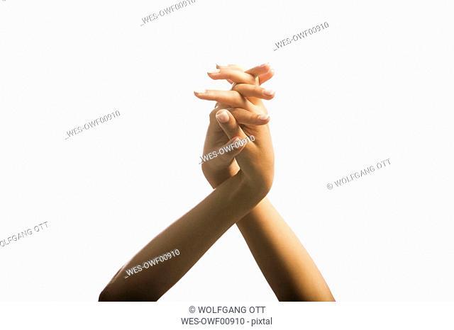 Human's hand, close-up