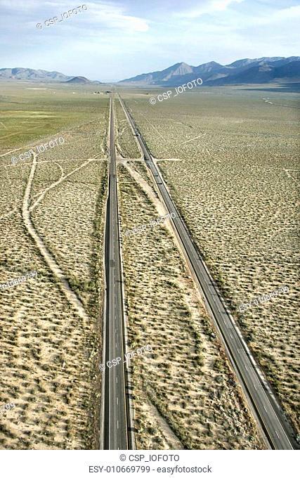 Desolate scenic highway
