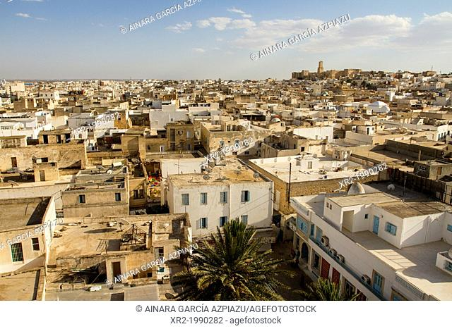 Panoramic view of Sousse, Tunisia