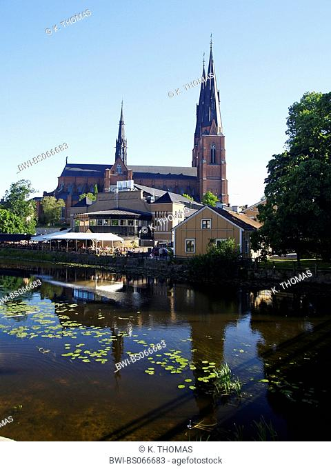 Uppsala, Domkyrkan, Cathedral, Sweden, Uppland, Uppsala
