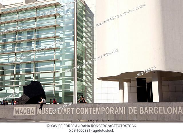 Museum of Contemporary arts - MACBA-, Barcelona, Spain