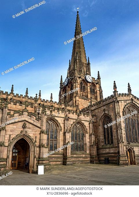 Minster Church of All Saints Rotherham a Site of Christian Worship for over 1000 Years South Yorkshire England