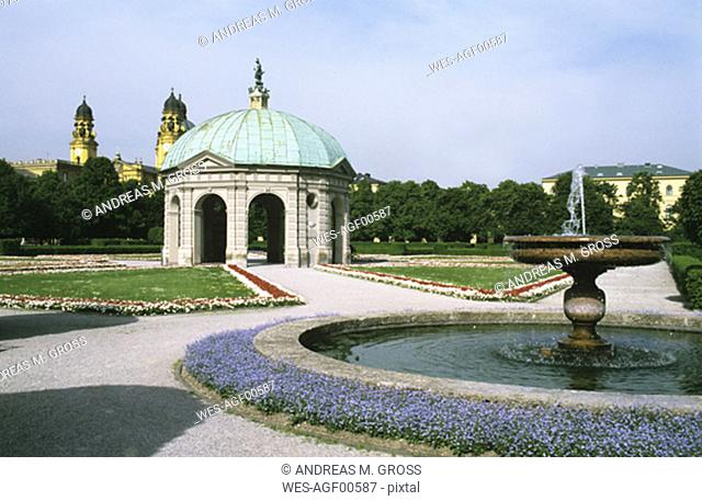 Germany, Munich, Hofgarten