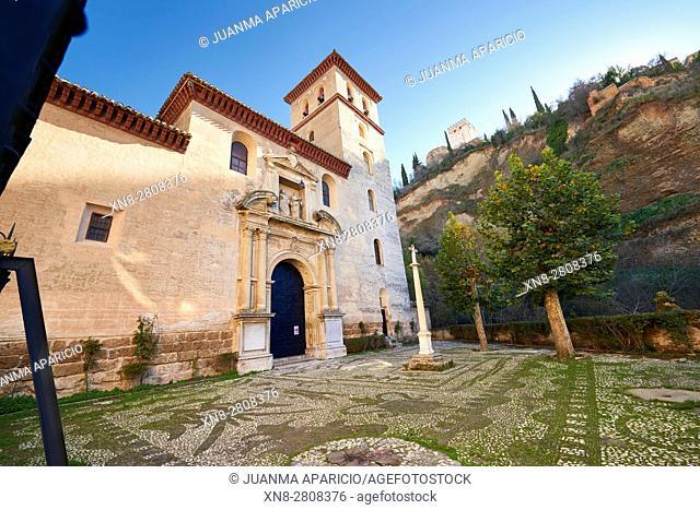 Parroquia De San Pedro Y San Pablo, Granada, Andalusia, Spain, Europe