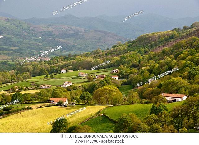 Baztan valley  Navarre  Spain