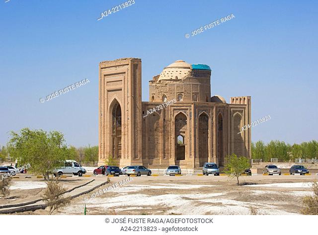 Turkmenistan , Konye Urgench archaelogical site , (W.H.), Torebeg Hanym Mausoleum
