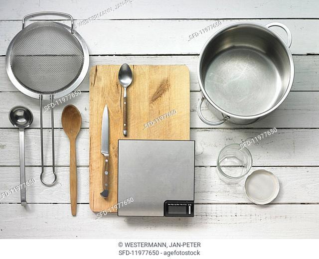 Utensils for making jam