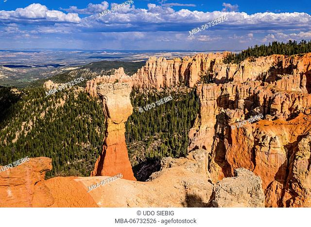 The USA, Utah, Garfield County, Bryce Canyon National Park, Agua canyon