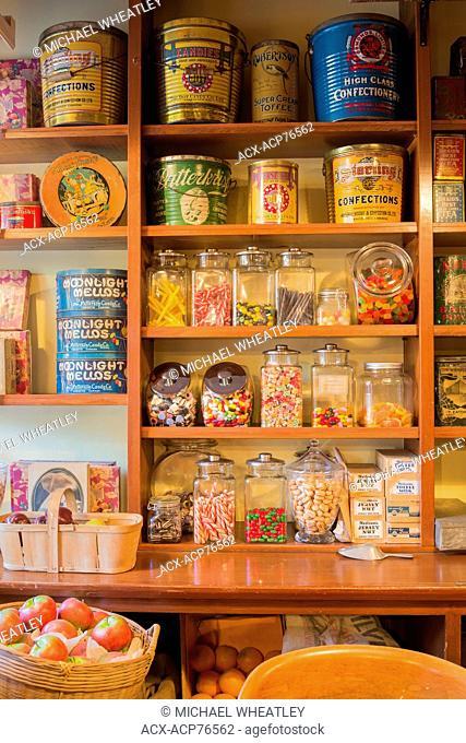 General Store, Burnaby Village Museum, Burnaby, British Columbia, Canada
