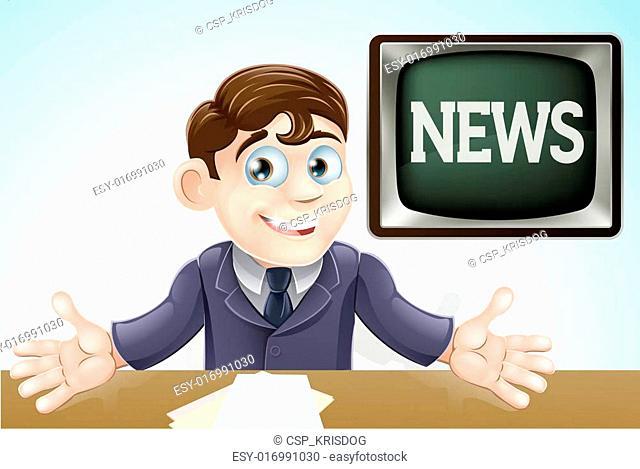 News anchor man