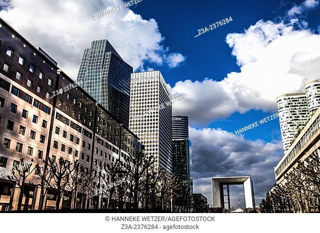 Skyscrapers at Paris-La Défense, France