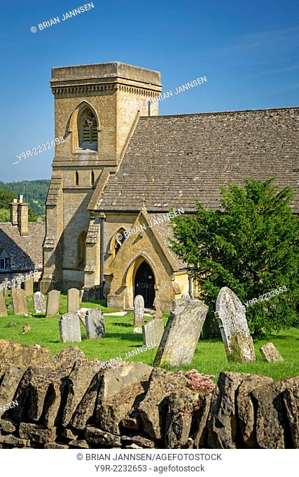 St Barnabas Church of Ease, Snowshill, the Cotswolds, Gloucestershire, England