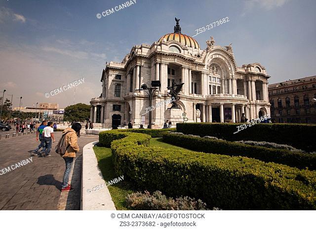 Palacio de Bellas Artes at the city center, Mexico City, Mexico, Central America