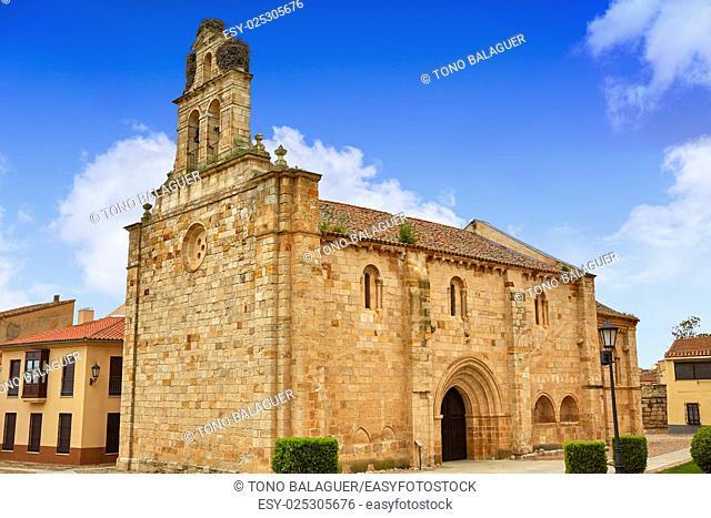 Carmen de San Isidoro church in Zamora at Spain