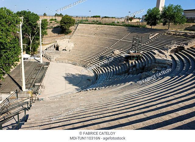 Tunisia - Carthage - Roman theater