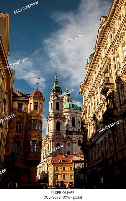 St. Nicholas Church and Sternberg Palace, Prague, Czech Republic