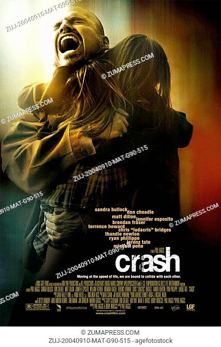RELEASE DATE: May 6, 2005  MOVIE TITLE: Crash  STUDIO: Bob Yari Productions  DIRECTOR: Paul Haggis  PLOT: Los Angeles citizens with vastly separate lives...